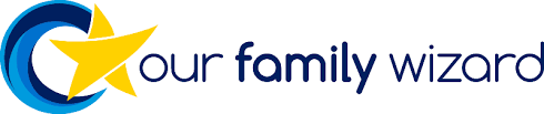 our family wizard logo coparenting app